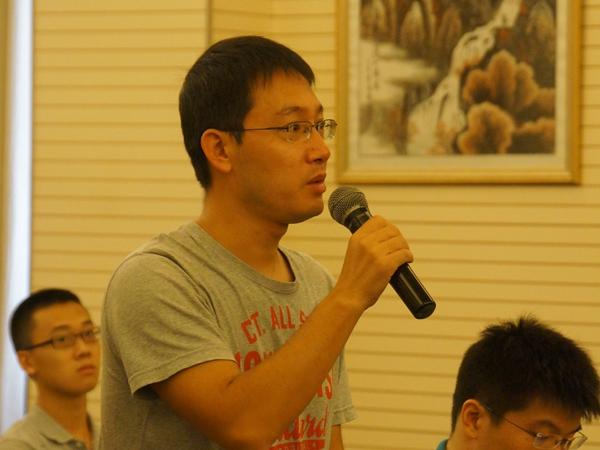 文化部于2014年8月20日上午10时举行季度例行新闻发布会,介绍有关工作情况。图为人民日报记者提问。文化部政府门户网站记者马思伟 摄。