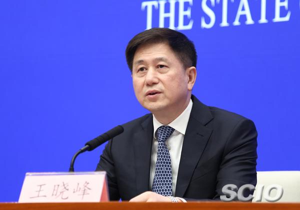 文化和旅游部党组成员王晓峰(张馨 摄)