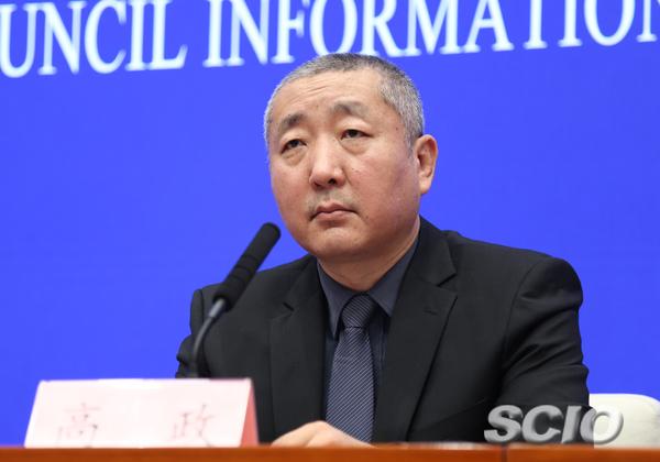 文化和旅游部产业发展司司长高政(张馨 摄)