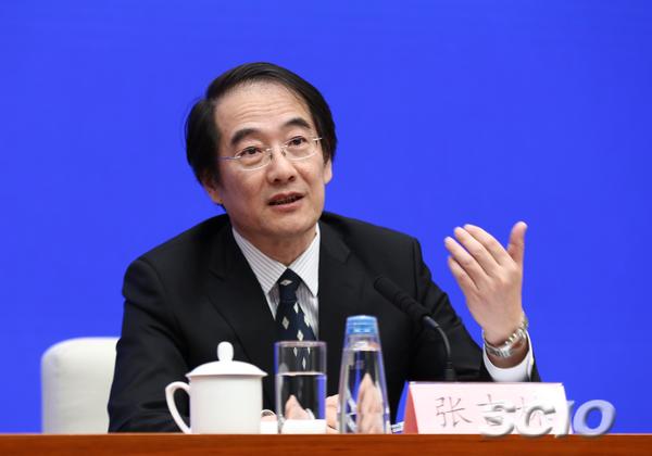 文化和旅游部资源开发司巡视员(主持工作)张吉林(张馨 摄)