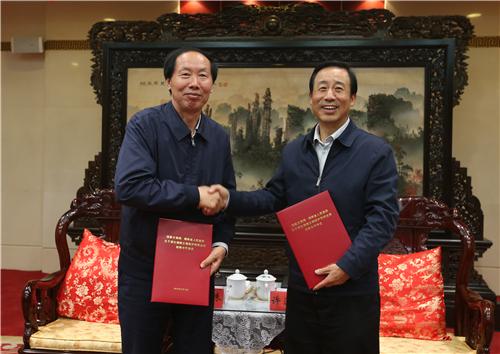 国家文物局与湖南省人民政府签署战略合作协议