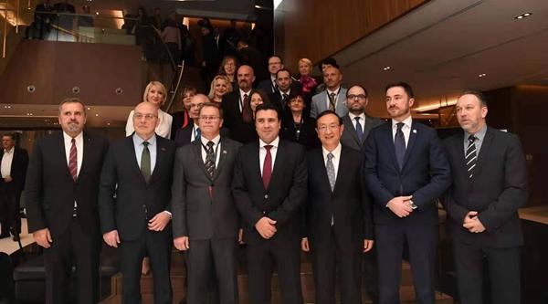 第四届中国—中东欧国家文化合作部长论坛在北